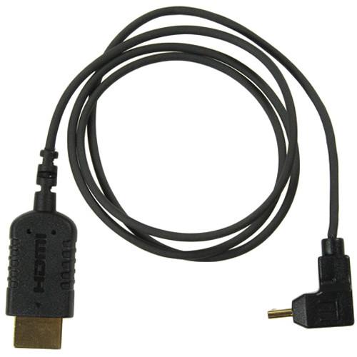 Right Angle Mini HDMI to Full HDMI