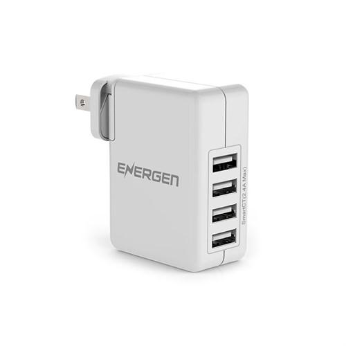 Energen 4 Port Interchangeable Prongs USB Wall Charger – 30W