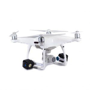 Lume Cube - Drone Mounts for DJI Phantom 4 (White)