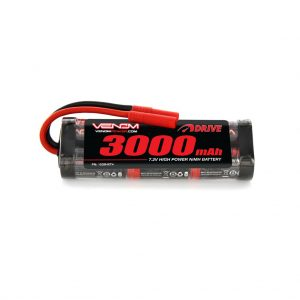 Venom 7.2V 3000mAh 6 Cell NiMH Battery with HXT 4.0mm Plug