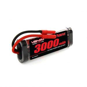 Venom 7.2V 3000mAh 6 Cell NiMH Battery with HXT 4.0mm Plug