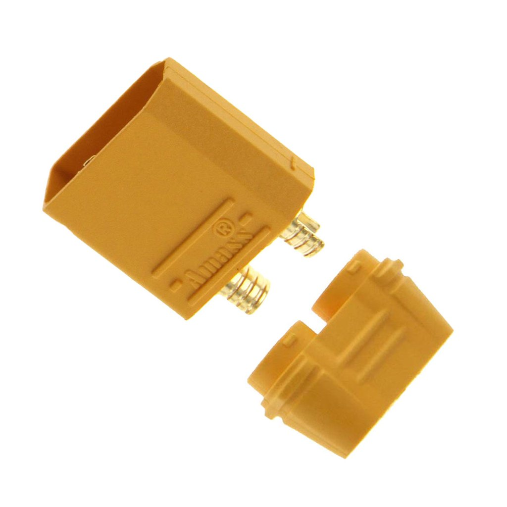 Amass XT90/XT90-S Male Battery Connector Plug for Device ESC & Charge Lead