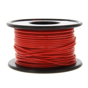 Venom 22AWG Soft Silicone High Strand Count Wire - Red - 30M / 100ft Roll