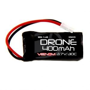 Venom 75C 3S 1000mAh 11.1V Drone Racing LiPo with Universal 2.0 Plug