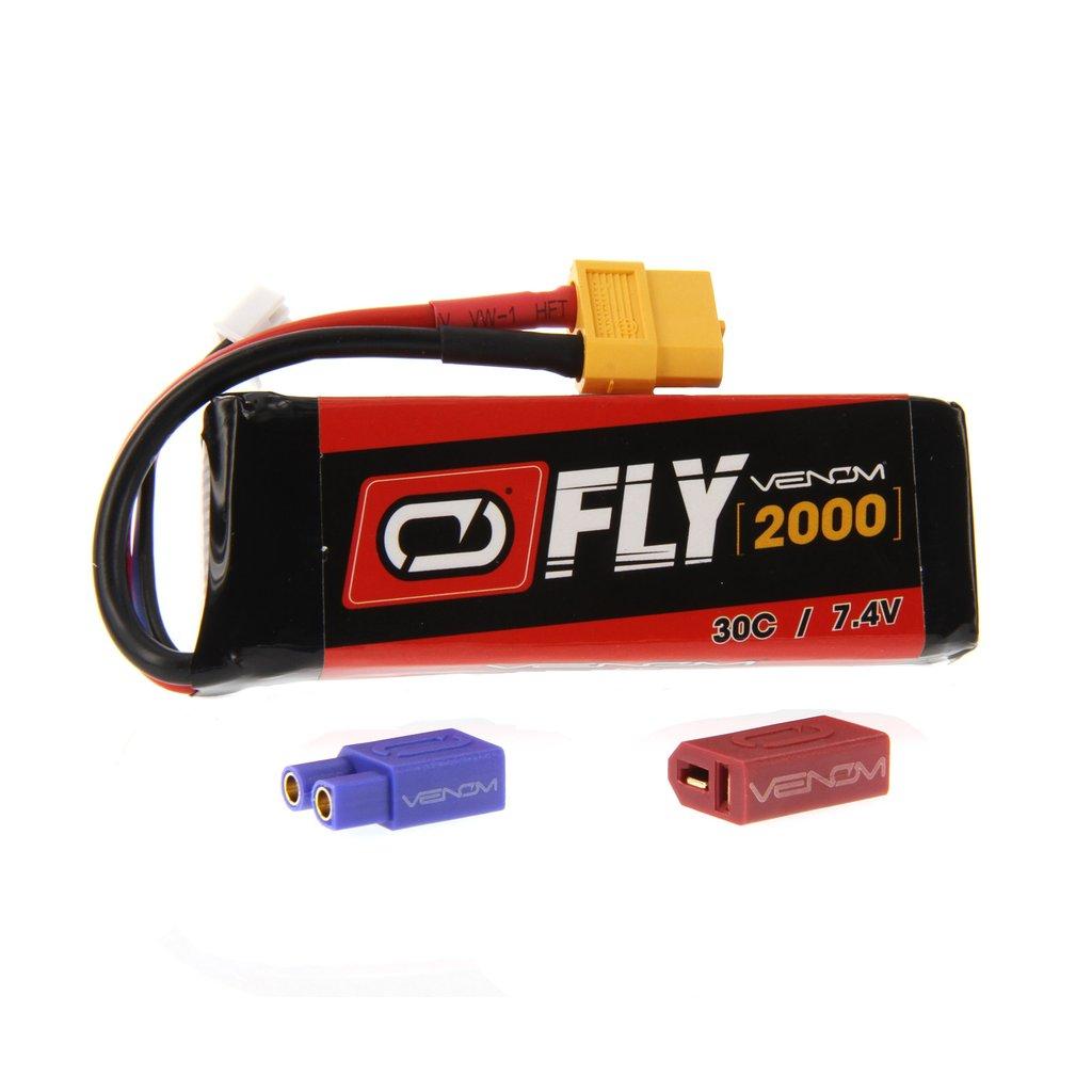 Venom Fly 30C 2S 2000mAh 7.4V LiPo Battery with UNI 2.0 Plug