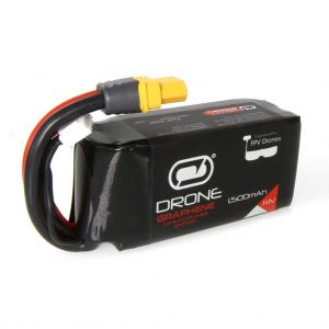 Venom Graphene 90C 3S 1500mAh 11.1V Drone Racing LiPo Battery with UNI 2.0 Plug