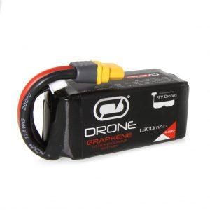 Venom Graphene 90C 4S 1300mAh 14.8V Drone Racing LiPo Battery with UNI 2.0 Plug