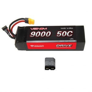 Traxxas X-Maxx RC Monster Truck 50C 4S 9000mAh 14.8V LiPo Battery by Venom