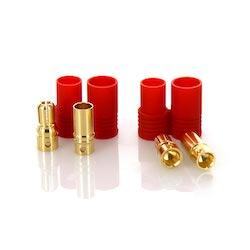 PRC6 Male and Female Bullet Connector Set for Battery ESC and Charge Lead 1 Pair
