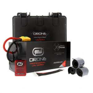 Venom 22000mAh 6S 22.2V Drone Professional Battery, 15C LiPo with XT90-S Plug