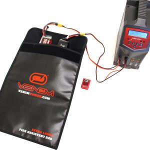Venom Document Bag w Glass Fiber and Fire Resistant Silica Protective Coating
