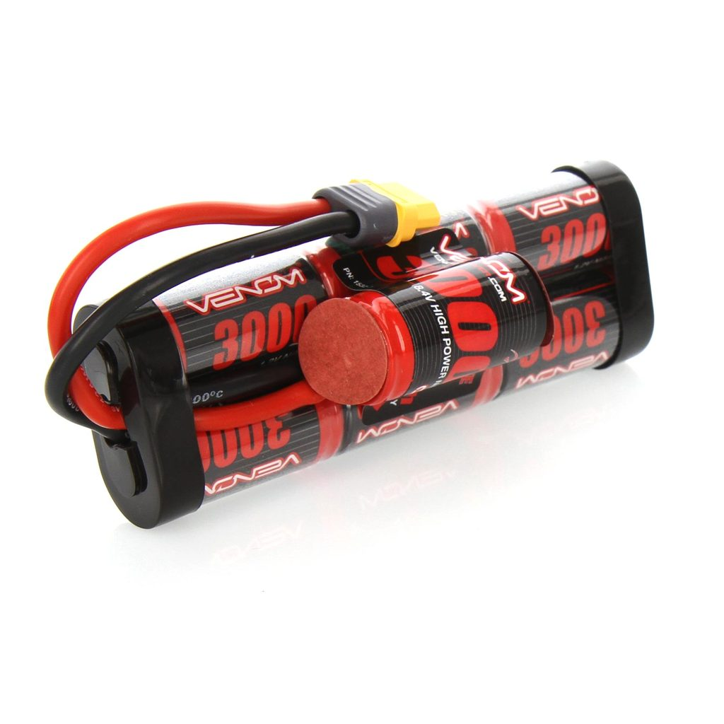 Venom 8.4V 3000mAh 7 Cell Hump Pack NiMH Battery with Universal Plug System