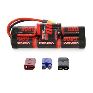 Venom 8.4V 5000mAh 7 Cell Hump Pack NiMH Battery with Universal Plug System