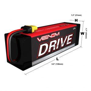 Venom 20C 3S 5400mAh 11.1V LiPo Battery with Universal Plug System