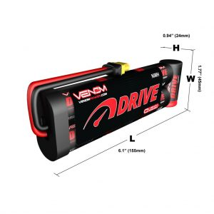 Venom 8.4V 4200mAh 7 Cell NiMH Battery Flat Pack with Universal Plug System