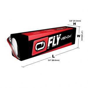 Venom Fly 30C 3S 1300mAh 11.1V LiPo Battery with UNI 2.0 Plug