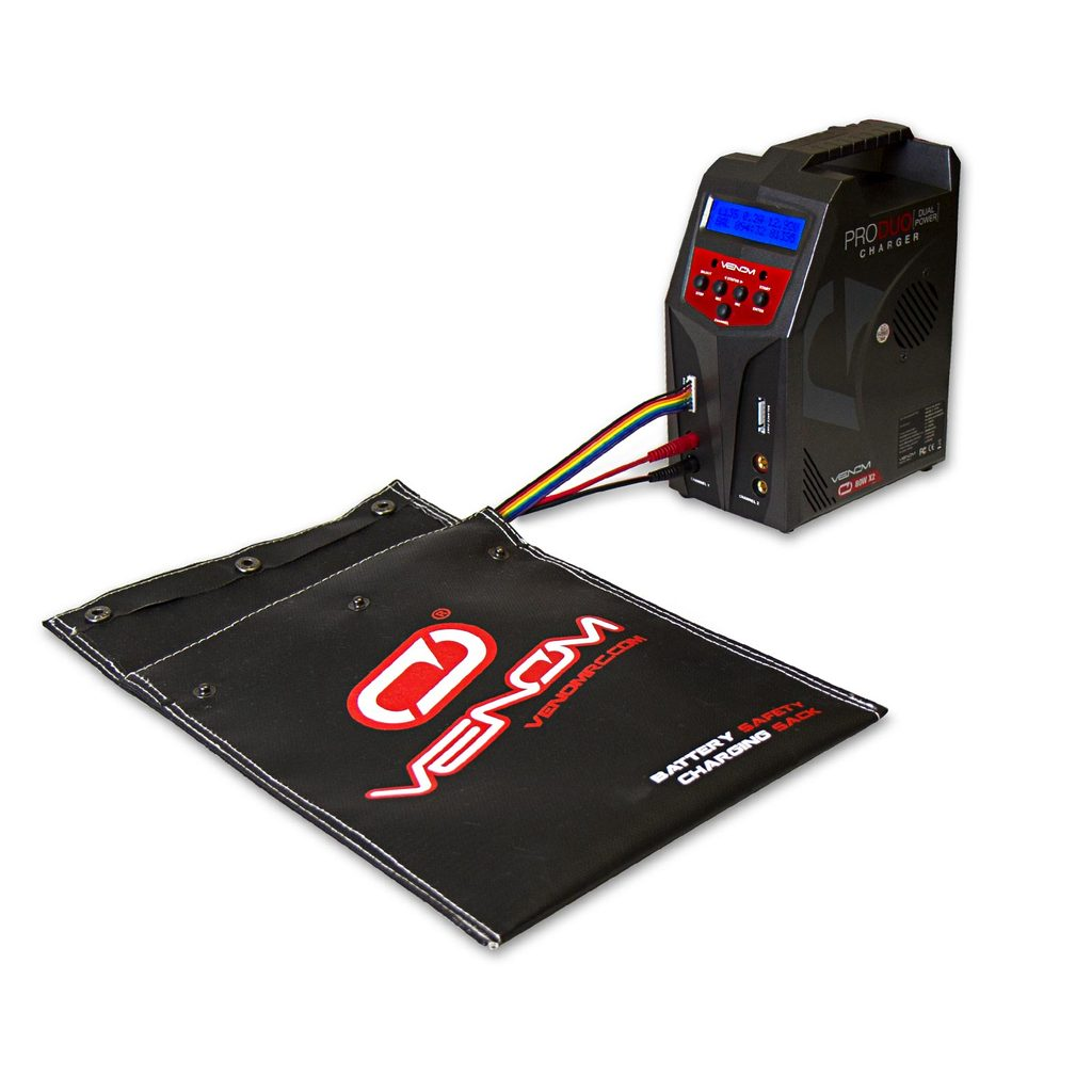 Venom LiPo and NiMH Battery Safety Charging Sack – Large