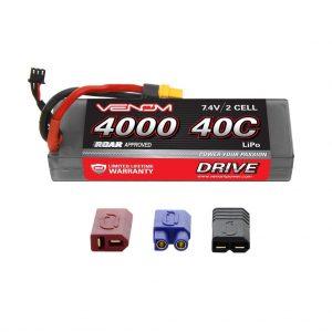 Venom 20C 3S 5000mAh 11.1V LiPo Battery with Universal Plug System