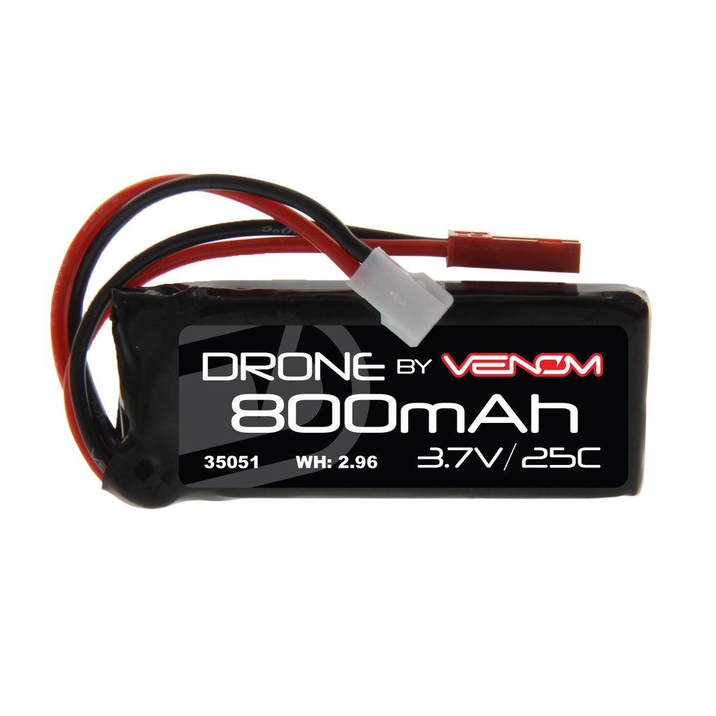 Venom 30C 1S 600mAh 3.7V LiPo Micro Drone Battery with Micro Losi Plug