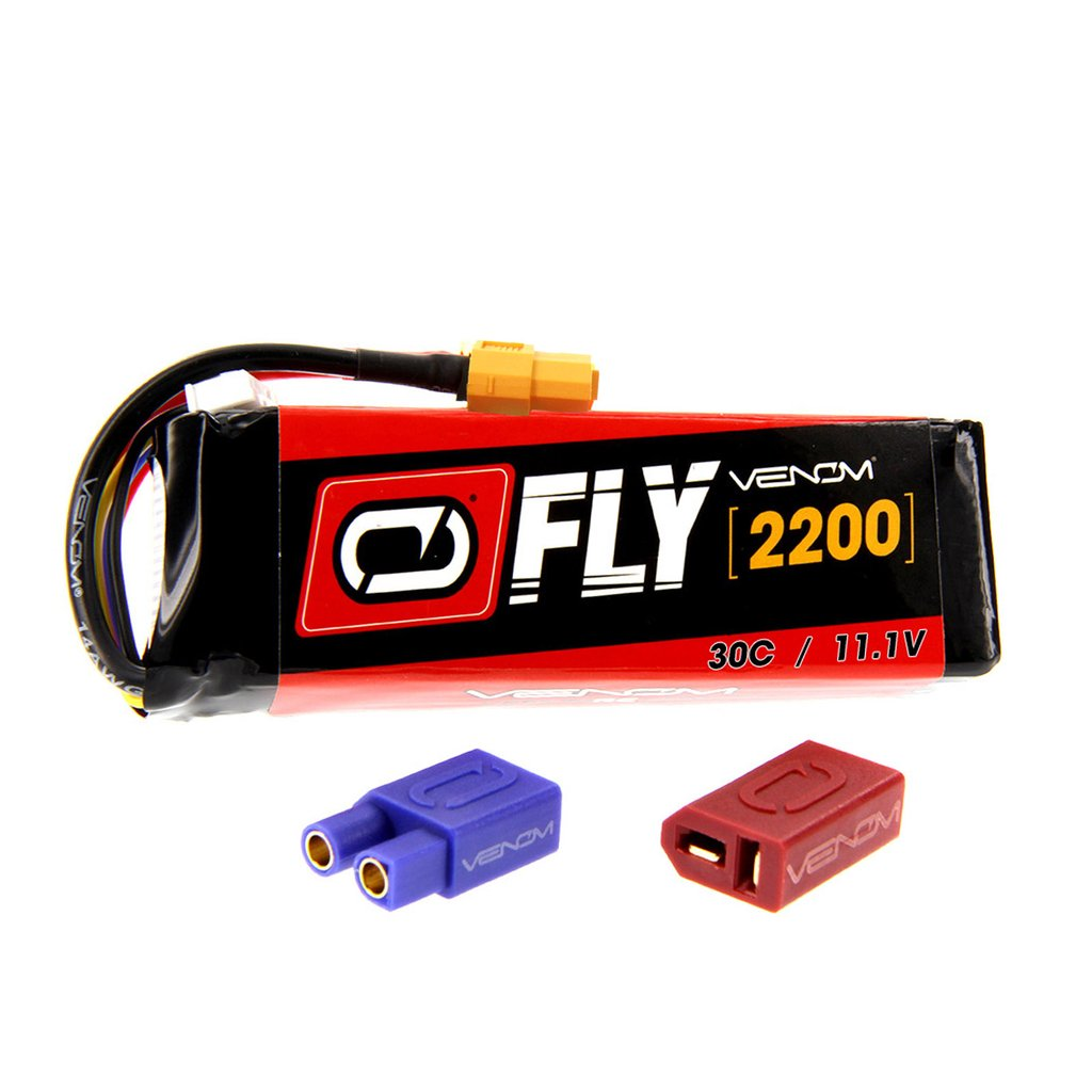 Venom Fly 30C 3S 2200mAh 11.1V LiPo Battery with UNI 2.0 Plug