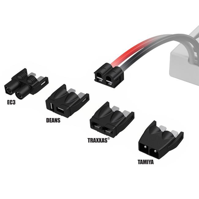 Venom Universal Plug System fits Tamiya Traxxas Deans EC3 Plug