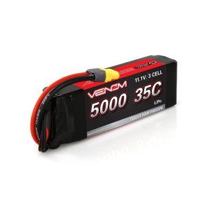 Venom 35C 3S 5000mAh 11.1V LiPo Battery with Universal Plug System