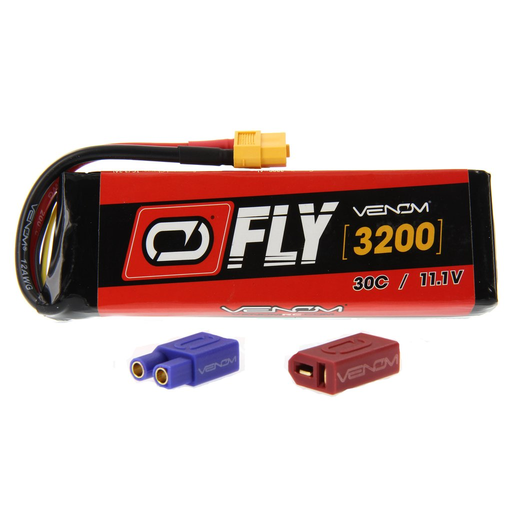 Venom Fly 30C 3S 3200mAh 11.1V LiPo Battery with UNI 2.0 Plug