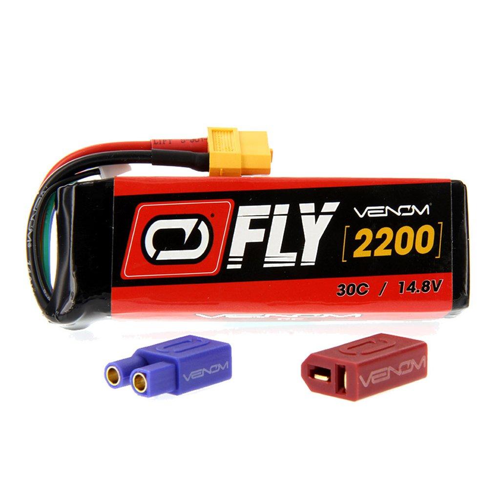 Venom Fly 30C 4S 2200mAh 14.8V LiPo Battery with UNI 2.0 Plug