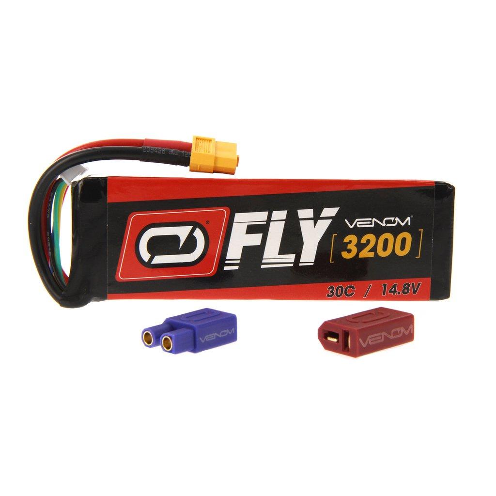 Venom Fly 30C 4S 3200mAh 14.8V LiPo Battery with UNI 2.0 Plug