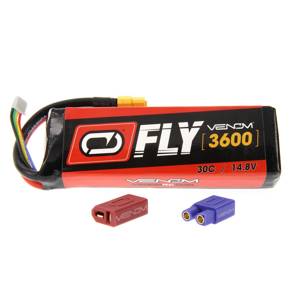 Venom Fly 30C 4S 3600mAh 14.8V LiPo Battery with UNI 2.0 Plug