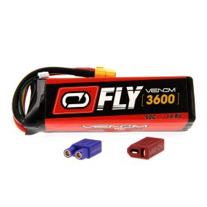 Venom Fly 50C 4S 3600mAh 14.8V LiPo Battery with UNI 2.0 Plug