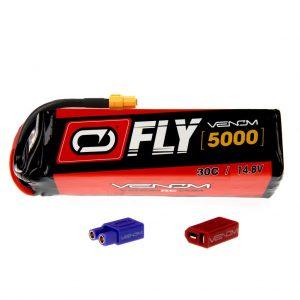 Venom Fly 30C 4S 5000mAh 14.8V LiPo Battery with UNI 2.0 Plug