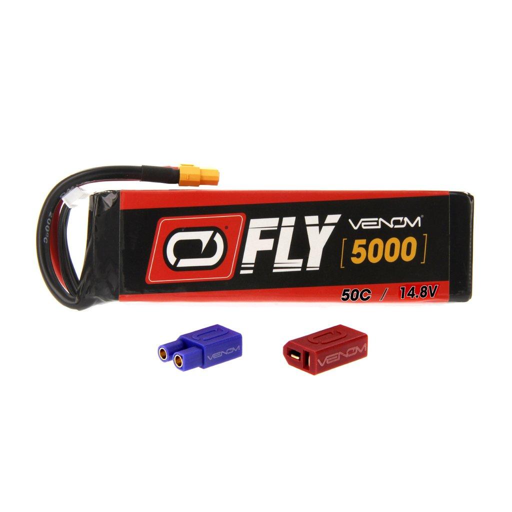 Venom Fly 50C 4S 5000mAh 14.8V LiPo Battery with UNI 2.0 Plug