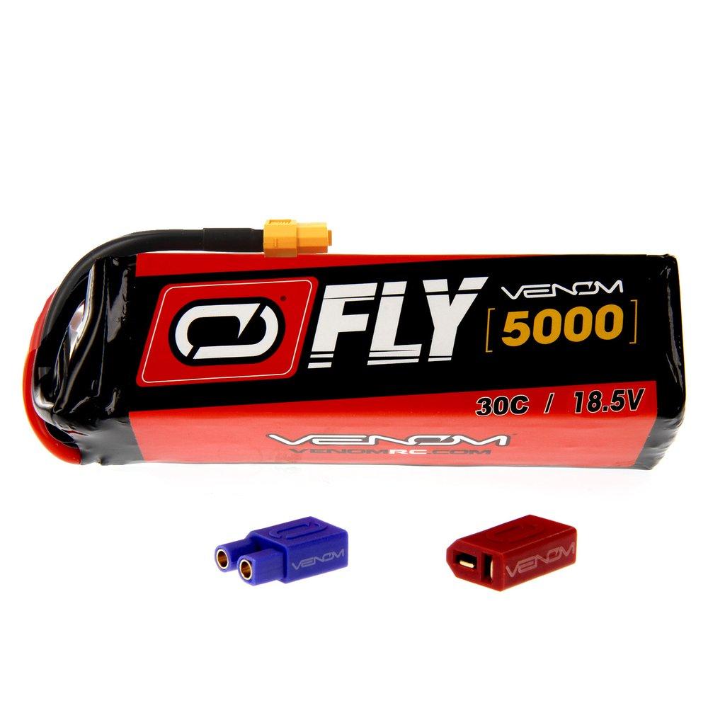 Venom Fly 30C 5S 5000mAh 18.5V LiPo Battery with UNI 2.0 Plug
