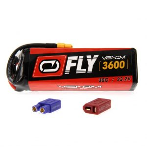 Venom Fly 30C 6S 3600mAh 22.2V LiPo Battery with UNI 2.0 Plug