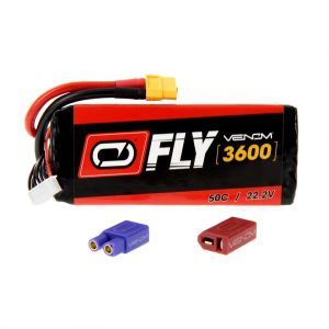 Venom Fly 50C 6S 3600mAh 22.2V LiPo Battery with UNI 2.0 Plug