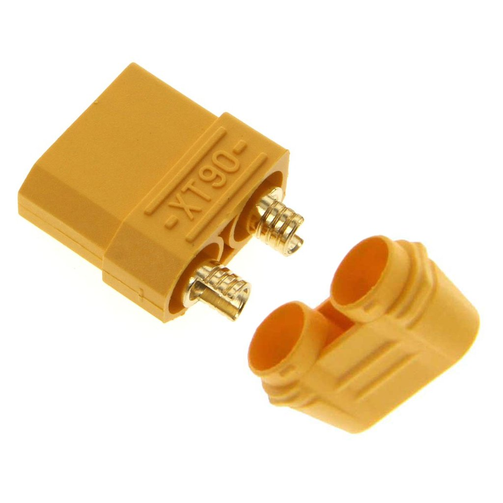 Amass XT90 Female Battery Connector Plug for LiPo or NiMH Batteries – 1 Piece