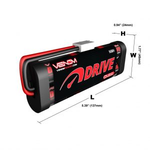 Venom 7.2V 3000mAh 6 Cell NiMH Battery for Roto Start and Starter Boxes