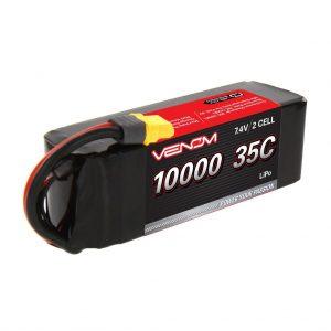 Venom 35C 2S 7.4V 10000mAh LiPo Battery with Universal Plug System