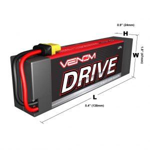 Venom 35C 3S 11.1V 3300mAh Hard Case LiPo Battery with Universal Plug System