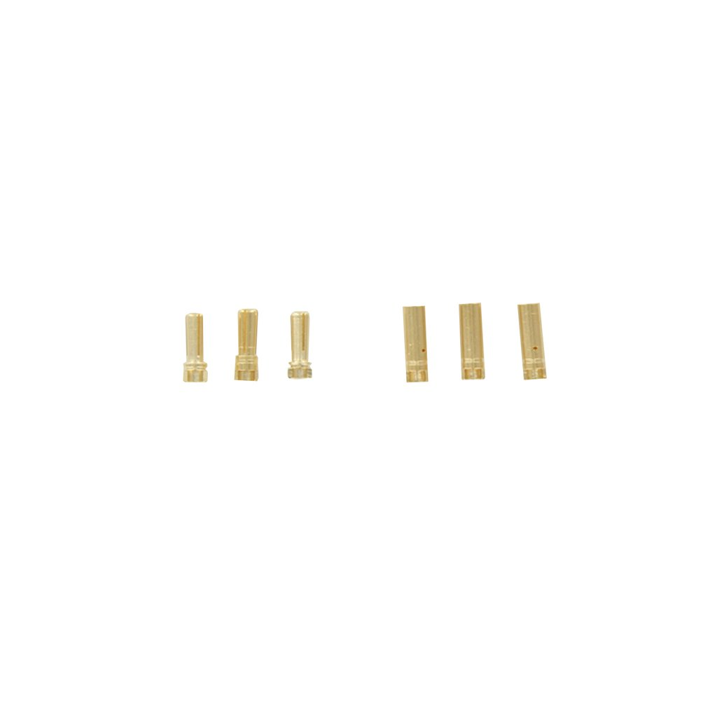 Venom Solid Bullet Plug 4.0mm – 12AWG (3 Sets)