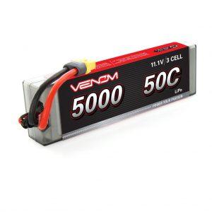 Venom 50C 3S 5000mAh 11.1V LiPo Battery with Universal Plug System