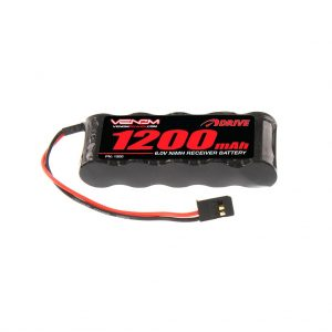 Venom 6V 1200mAh 5-Cell Flat Receiver NiMH Battery