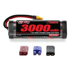 Venom 7.2V 3000mAh 6 Cell NiMH Battery with Universal Plug System
