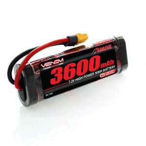 Venom 7.2V 3600mAh 6 Cell NiMH Battery with Universal Plug System
