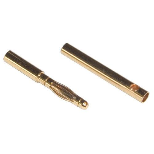 Venom Micro Bullet Plug 2.0mm for 16-18awg wire (3 Sets)