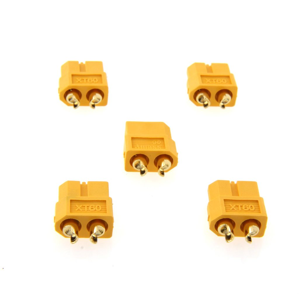 Amass XT60 Female Battery Connector – 5 pieces