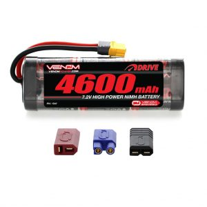 Venom 7.2V 4600mAh 6 Cell NiMH Battery with Universal Plug System