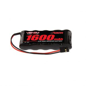 Venom 6V 1600mAh 5-Cell Flat Receiver NiMH Battery