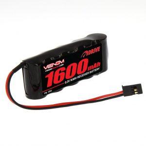 Venom 6V 1600mAh 5-Cell Flat Receiver NiMH Battery